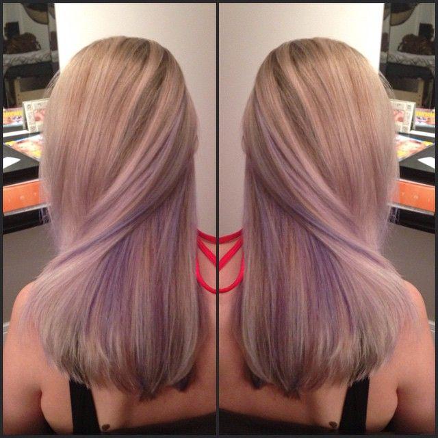 Lavender peek a boo highlights google search hair pinterest lavender peek a boo highlights google search pmusecretfo Images