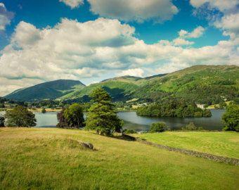 Grasmere In English Lake District Landscape Photography Photography Print Golf Photography Landscape Lake District