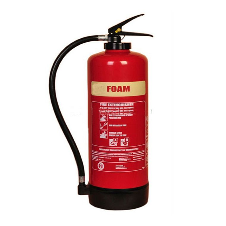 MSF Stainless Steel Foam Fire Extinguisher Stainless Steel
