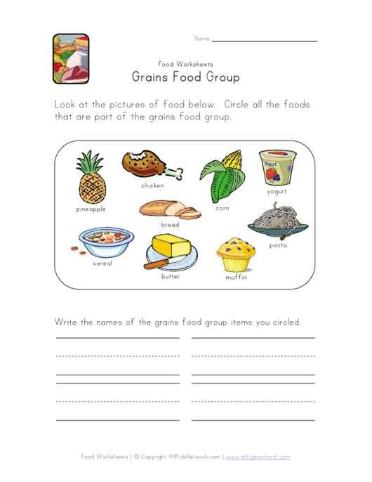 dairy food group worksheet Preschool Nutrition Pinterest