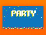 Check Out This Evite Invitation Design 8 Bit Minecraft Party