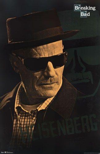 - Breaking Bad - Heisenberg - art prints and posters