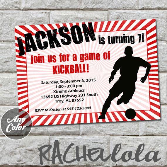 kickball invitation do