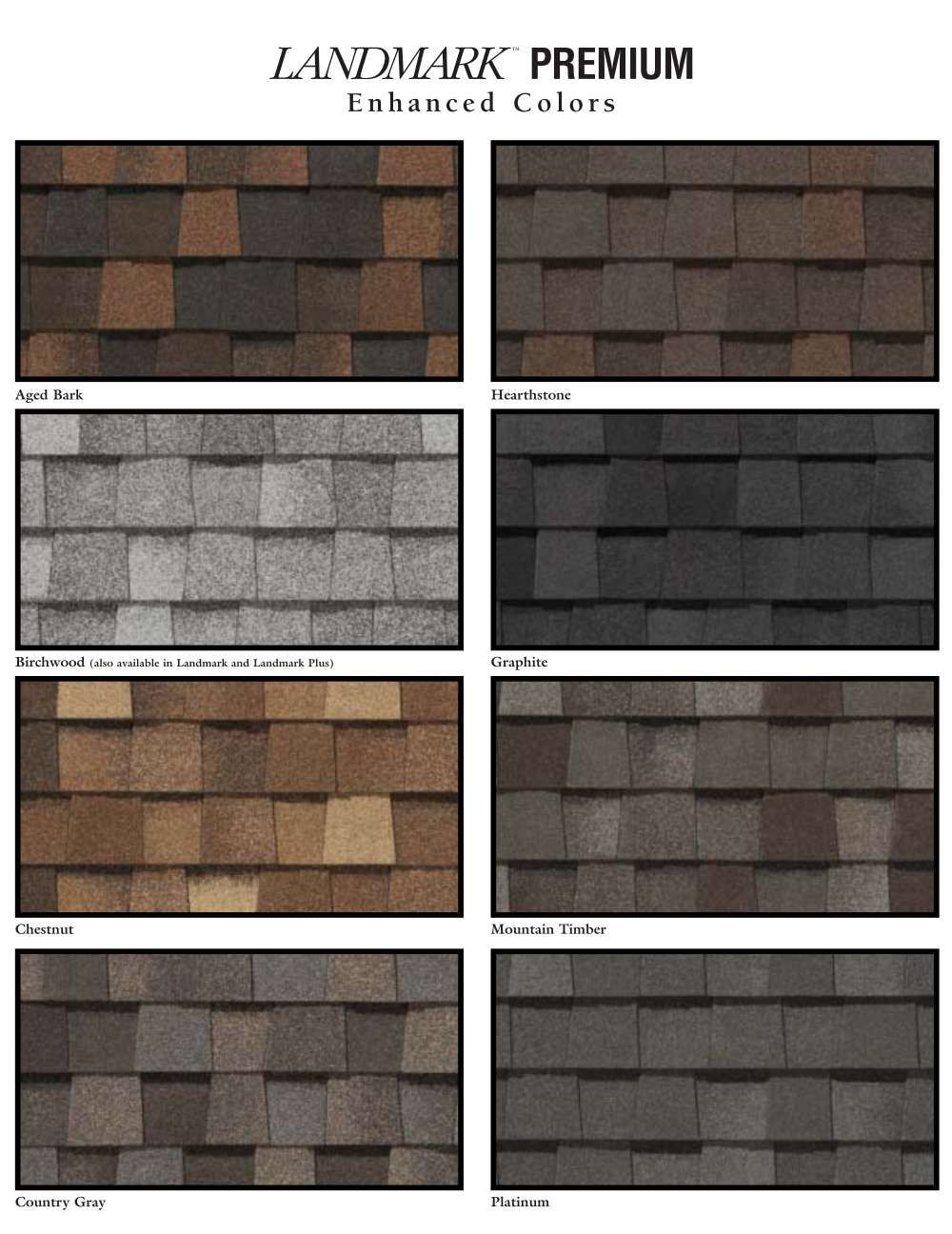 Certainteed Landmark Series Premium Shingles Southwest Region Roof Shingle Colors Architectural Shingles Roof Shingle Colors