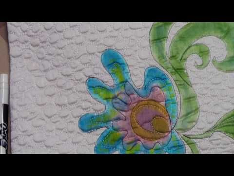 Drawing Lines For Quilting : Pam clarke borders straight lines youtube