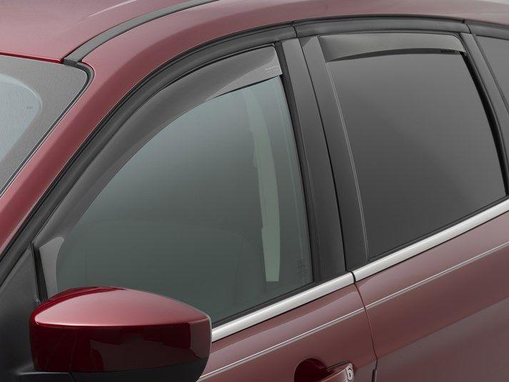 2016 Ford Escape Weathertech Side Window Deflectors Rain Guards Wind Deflectors Window Deflectors Ford Escape Side Window