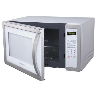 Ft 1000 Watt Microwave Oven Stainless Steel Silver