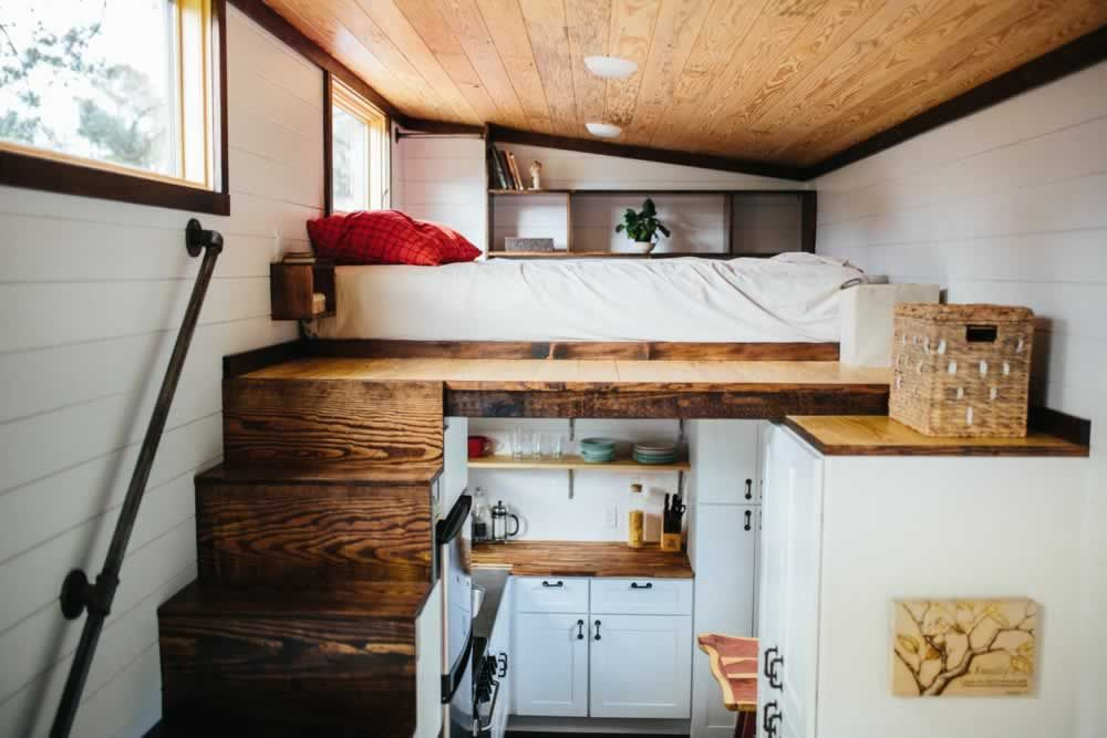 The Chimera Tiny House On Wheels By Wind River Homes