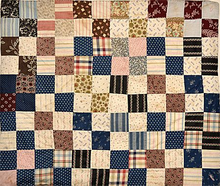 19th century scrap quilt - doll size | DOLL QUILTS | Pinterest ... : doll quilt size - Adamdwight.com