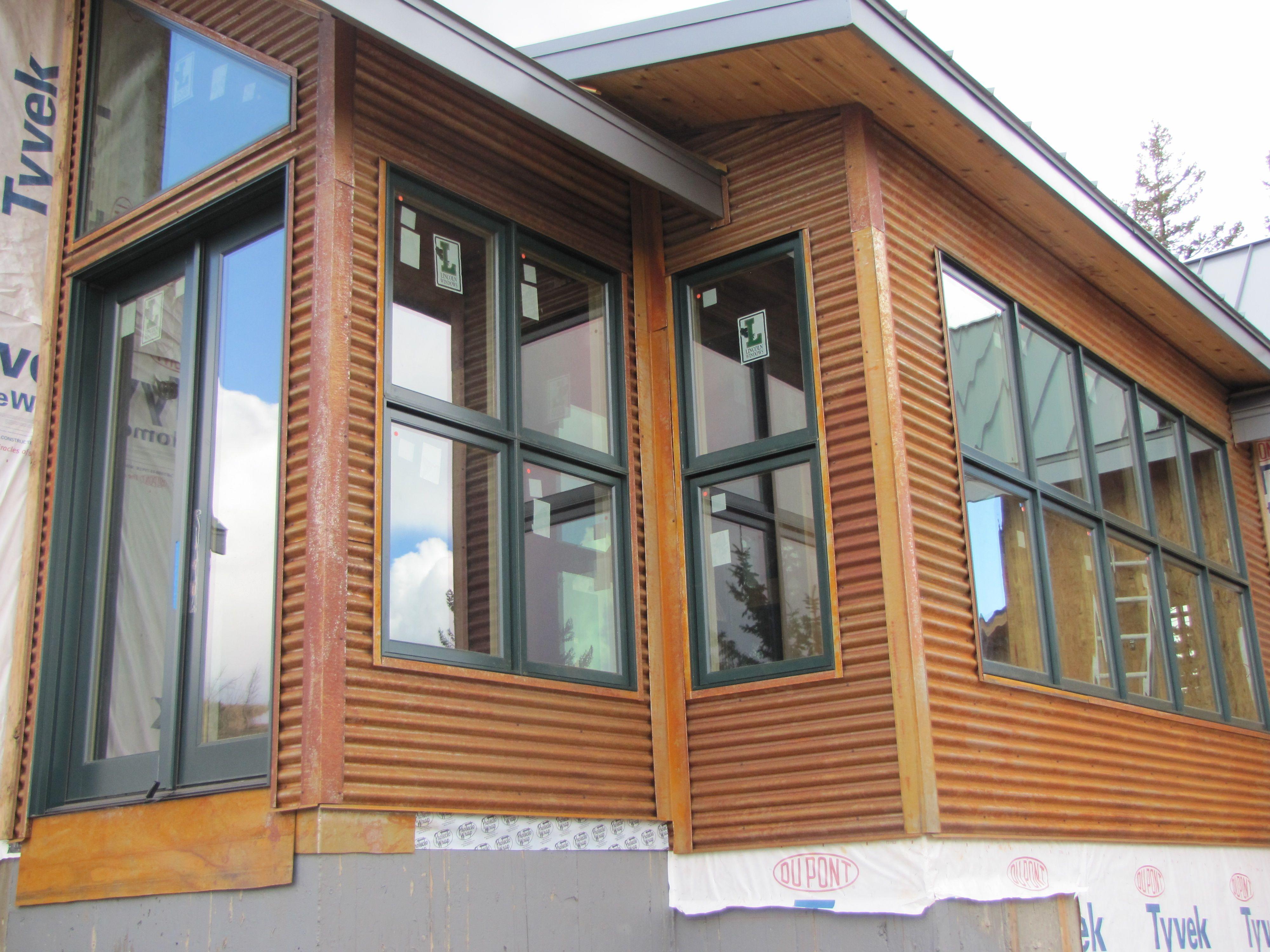 Rustic Metal Siding Metal Siding House Exterior Metal Homes