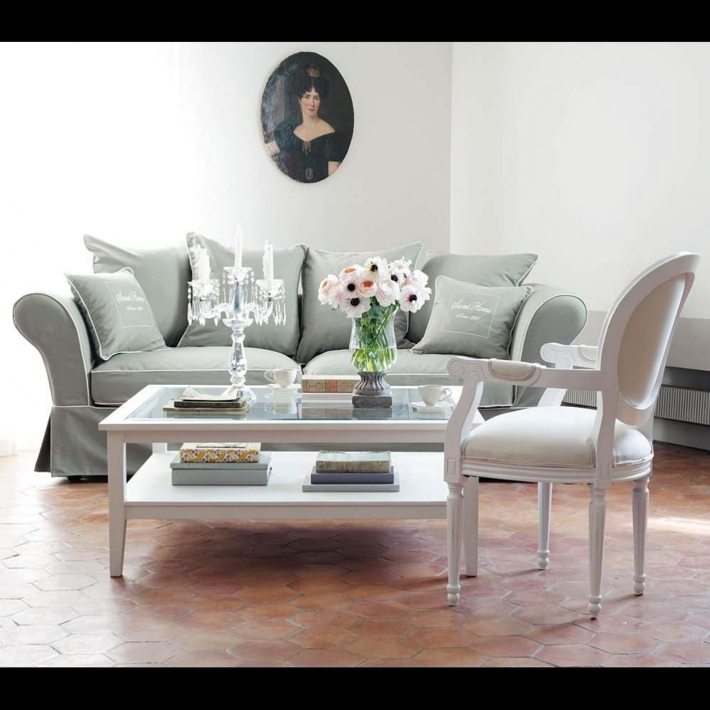 table basse ivoire GUSTAVIA | Table basse - Coffee table ...