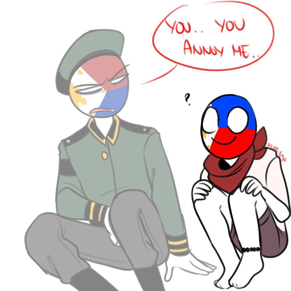 Countryhumans Gallery Ii Philippines And Martial Law Comic