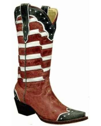 Women's USA Boot - A2515 #Glimpse_by_TheFind