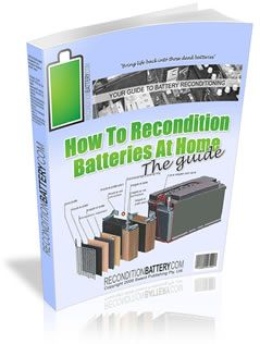 How To Make A Rechargeable Battery At Home Recondition Batteries Battery Batteries