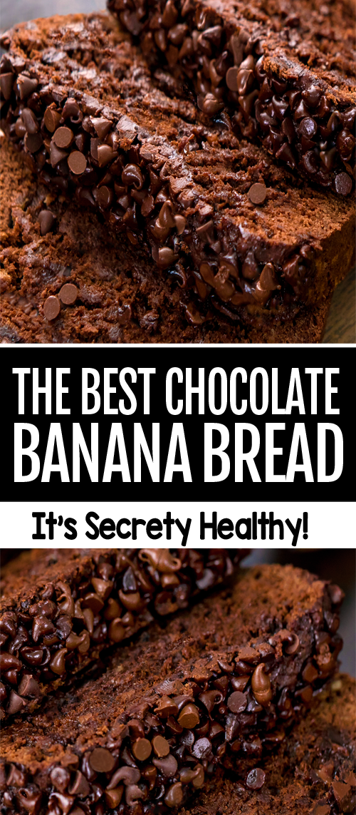 Chocolate Banana Bread (Vegan, Gluten Free)