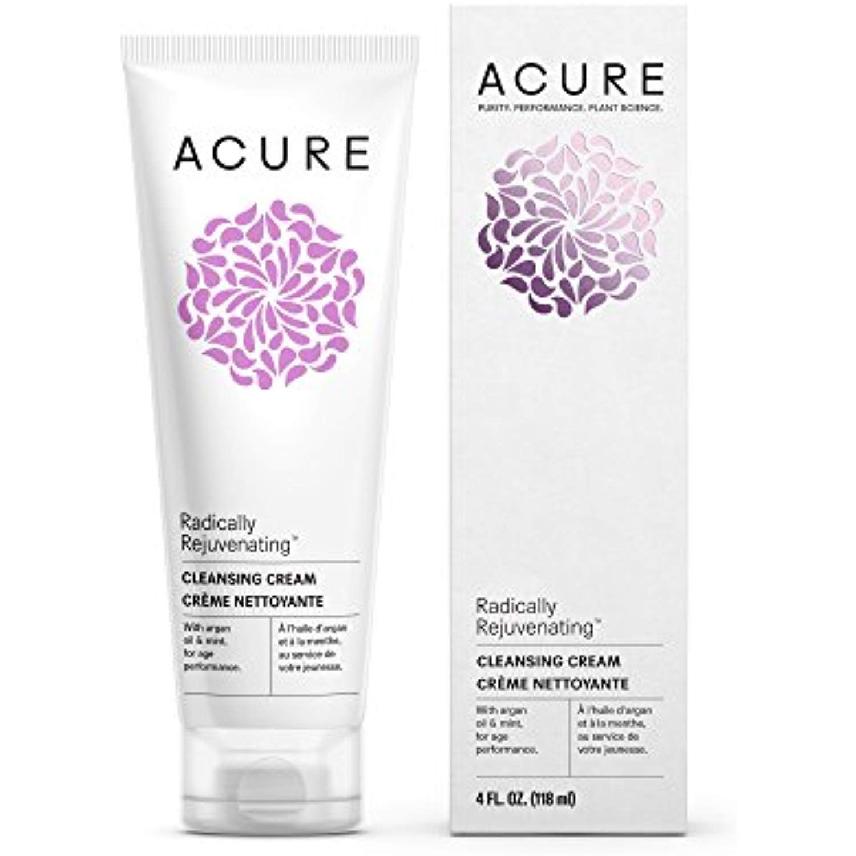 Acure Radically Rejuvenating Cleansing Cream, 4 Fluid
