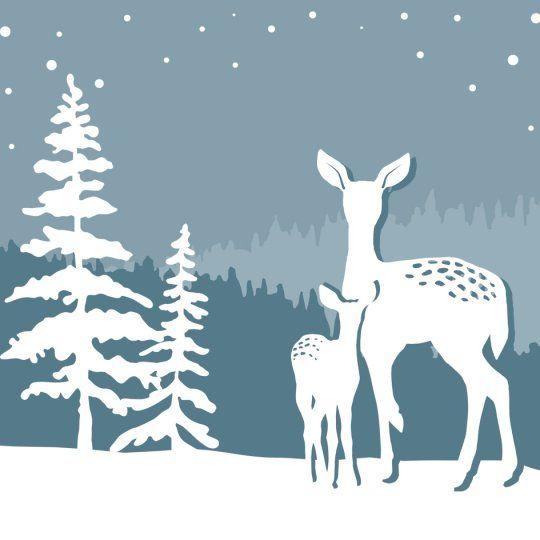 Die Cu TDeer Avery Template Designs For Christmas