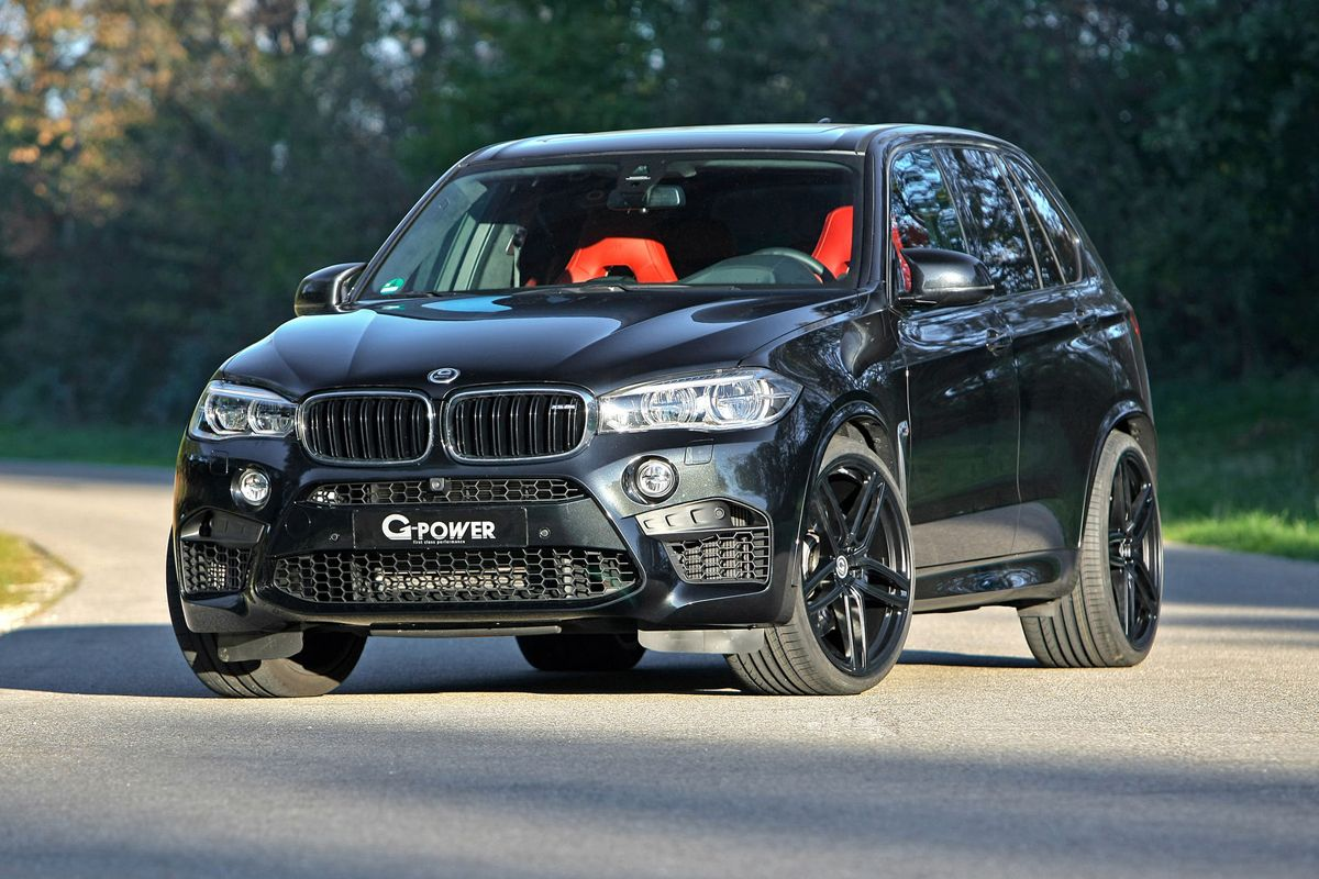 G Power Gives The F85 Bmw X5 M Power And New Shoes With Images