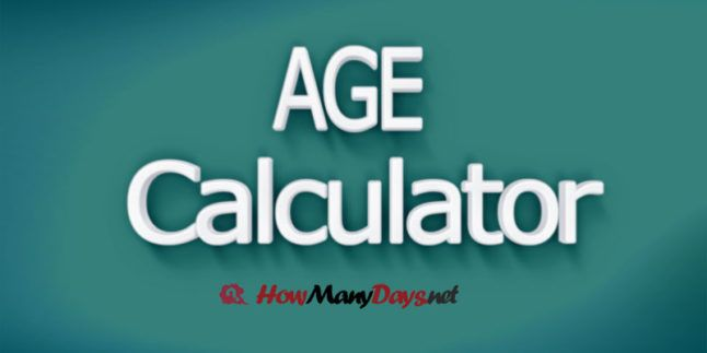 How many days dating calculator