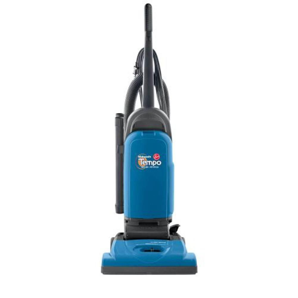 Hoover Tempo Widepath Bagged Upright Vacuum Cleaner Blues