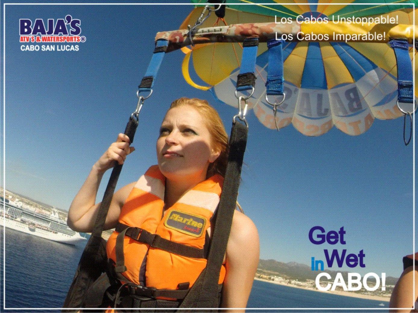 Enjoy Life in Los Cabos!  Disfruta de la Vida en Los Cabos!   www.bajaswatersports.com