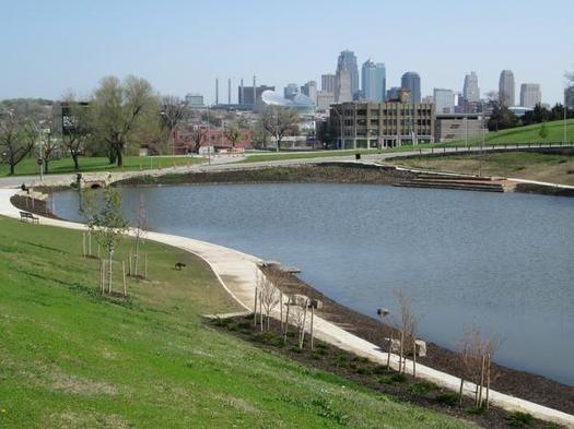 The Lake In Penn Valley Park In Kansas City Missouri Neighbors