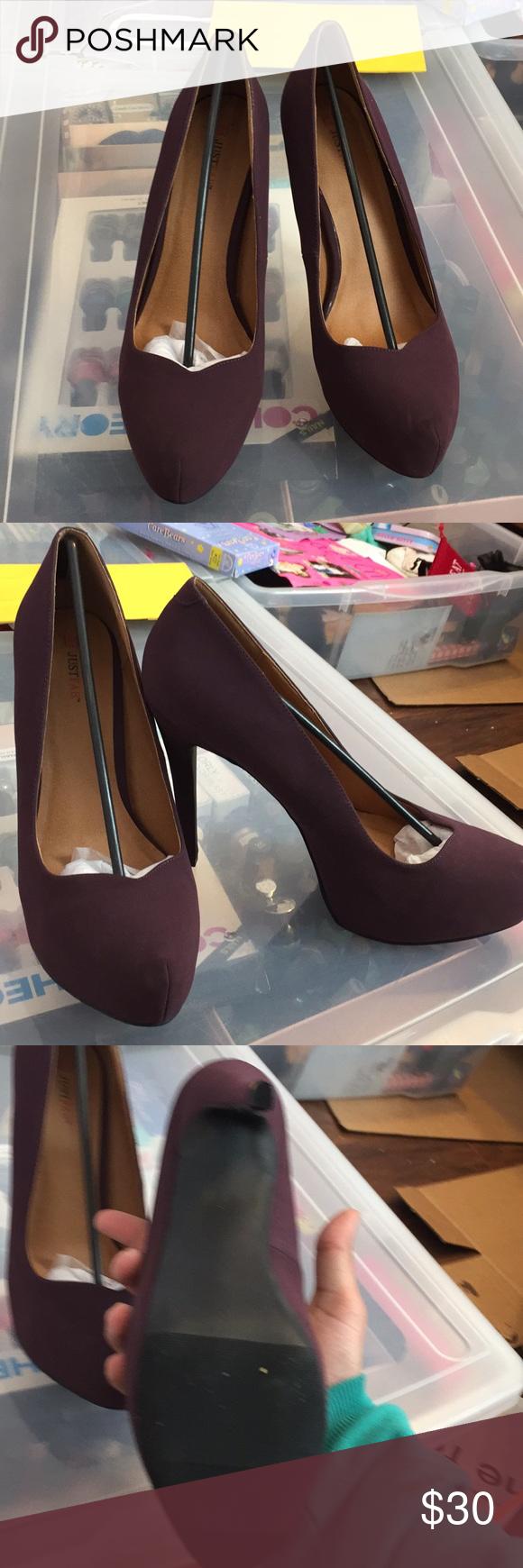 Lausanne Purple Heels Purple Heels Heels Justfab Shoes Heels
