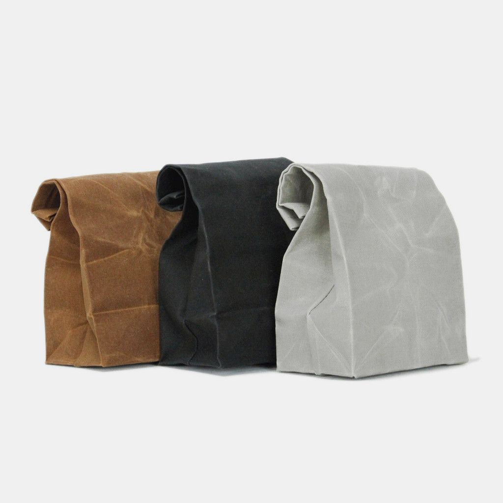 There is nothing better than packing a great homemade lunch in an iconic brown paper sack. But with age, and added emphasis on being environmentally conscious, the simple sack should grow up, too. Mad