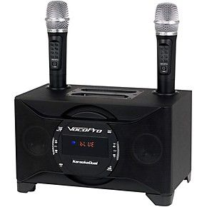 VocoPro KaraokeDual-Plus Karaoke System with Wireless Microphones and Bluetooth #karaokesystem