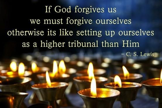 Forgiving ourselves | Top 50 C.S. Lewis quotes | Deseret News
