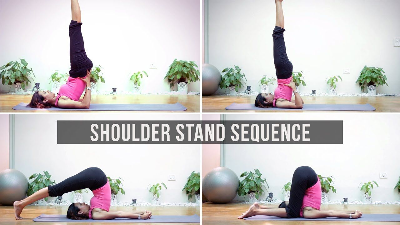 Shoulder Stand How To Do