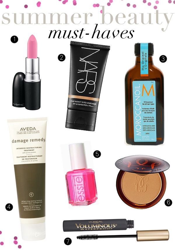 Summer Beauty Must Haves Summer Beauty Beauty Must Haves