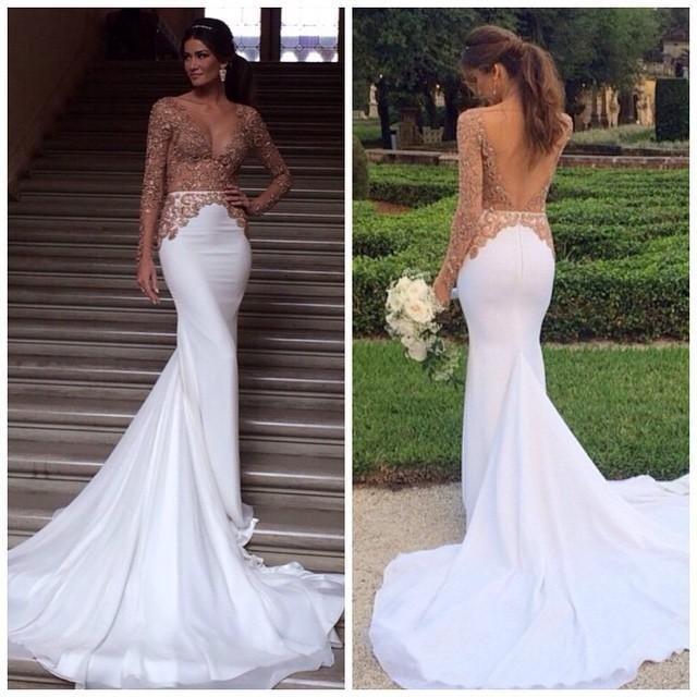 Wedding Dress White And Gold: Wedding Dresses Online 2015 Wedding Dresses White And Gold