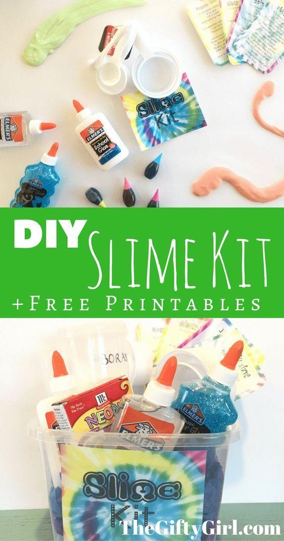 DIY Slime Kit Gift For Kids Tweens Or Teens