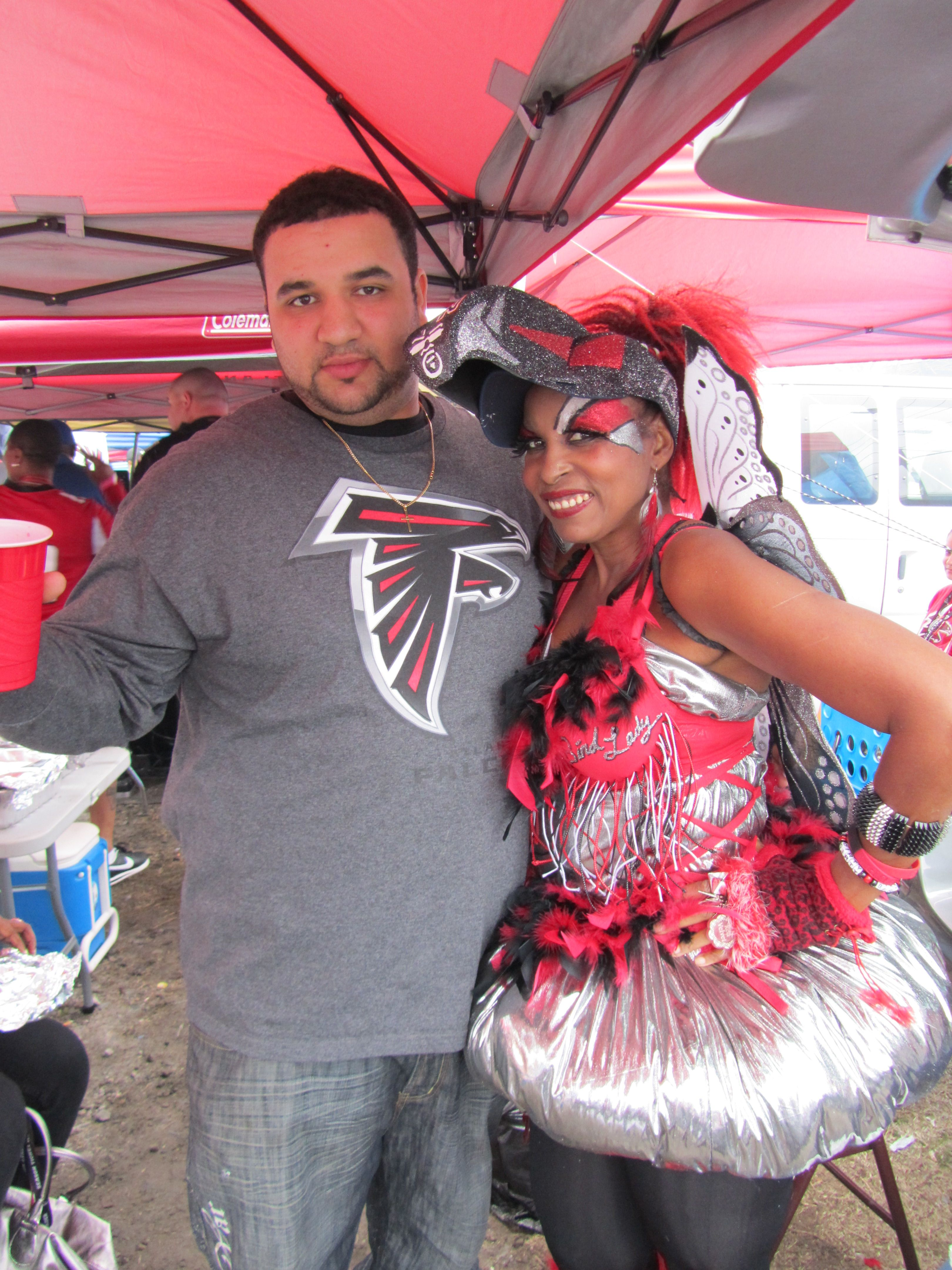 Atlanta Falcons Birdlady Atlanta Falcons Falcons Rise Up Nfl Fans