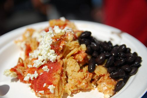 I Need this  Chilaquiles con Frijoles - Los Amates Mexican Kitchen AUD10 /