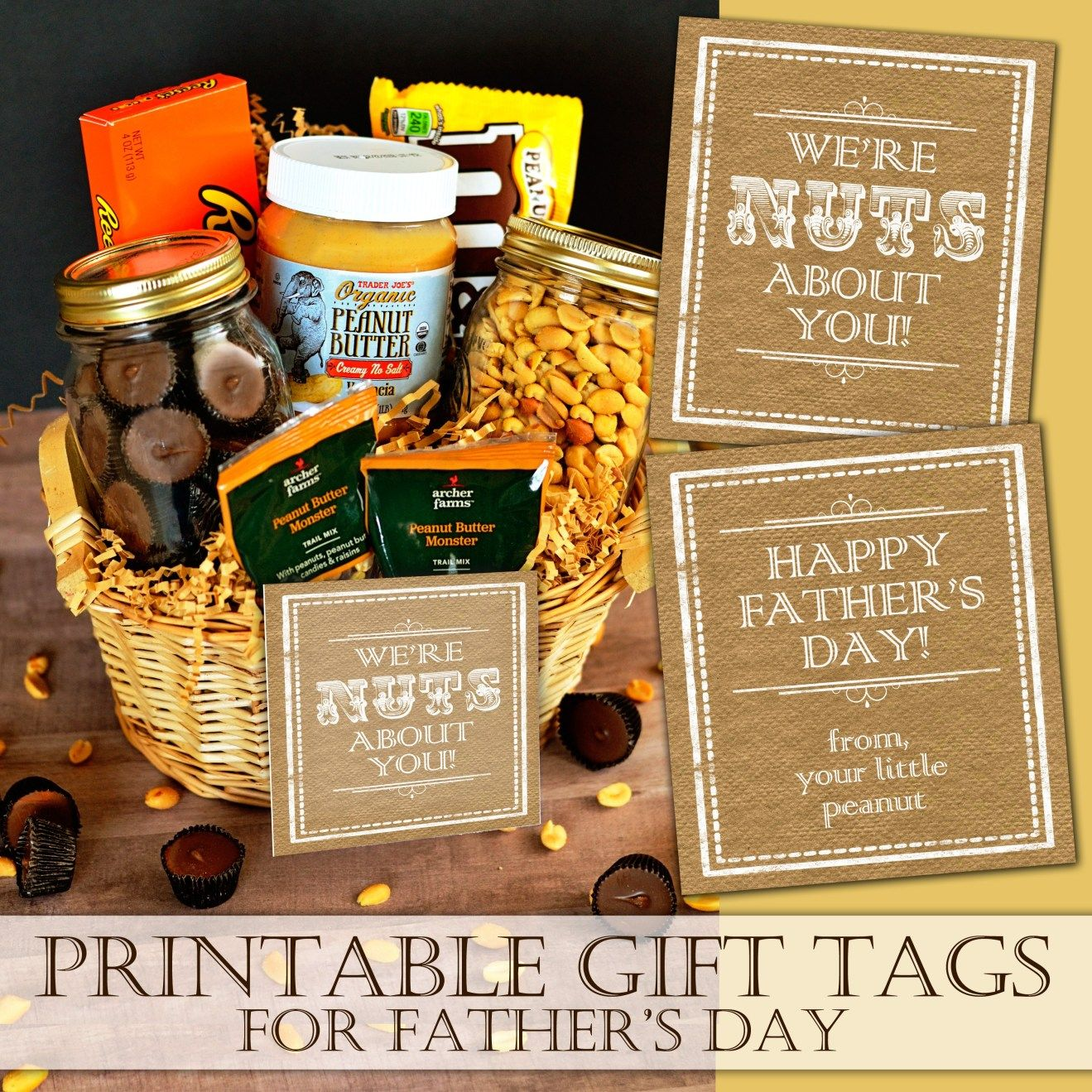 Nuts About You Father's Day Gift Basket