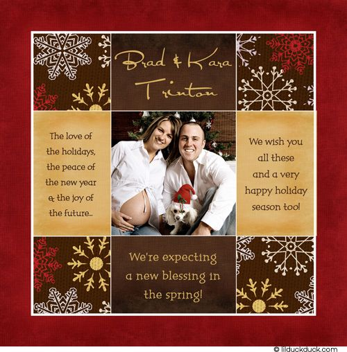 Have a new (human baby) blessing to share? Let your pet be part of the pregnancy announcement too!