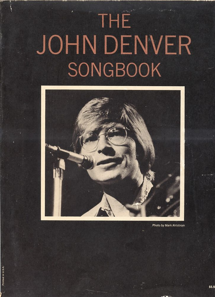 details about the john denver songbook piano sheet music many pictures lyrics 23 songs my. Black Bedroom Furniture Sets. Home Design Ideas