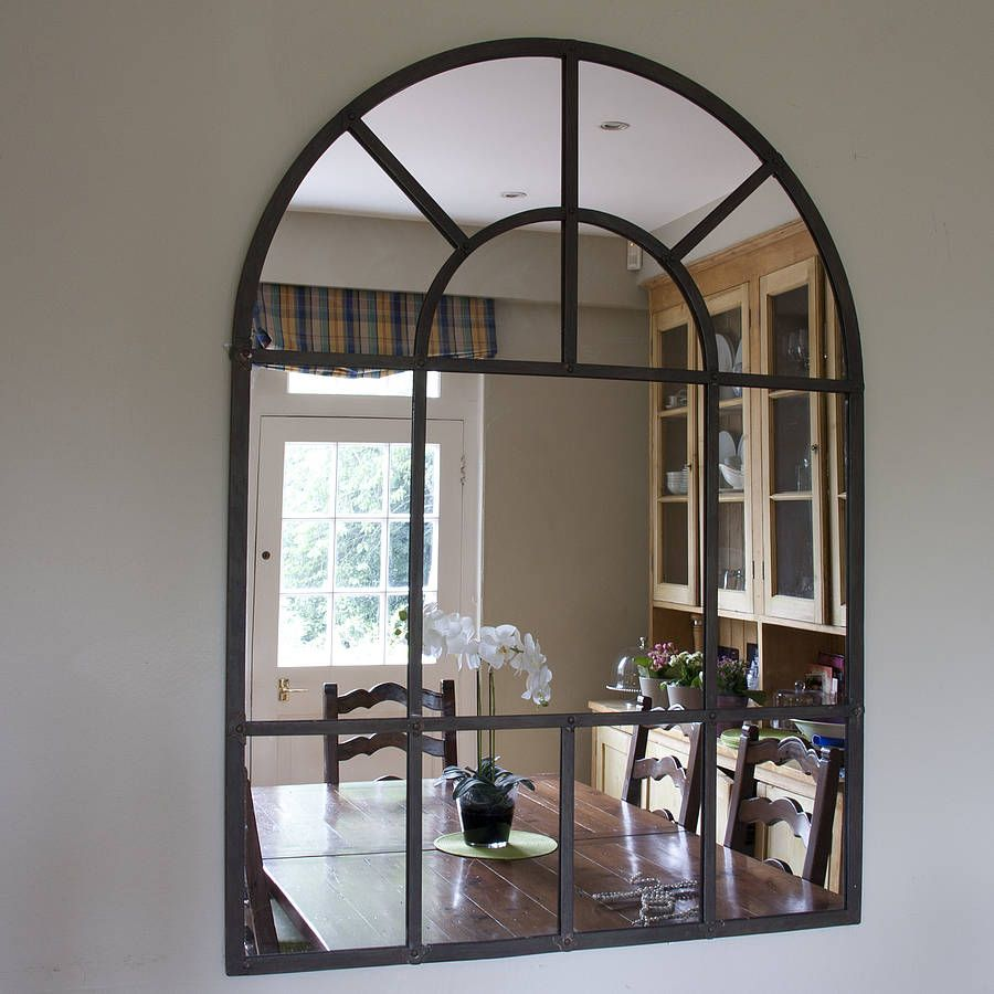 Related image home decor ideas pinterest arch mirror metal this magnificent metal framed arch wall mirror is capable of amazing feats in the larger size it gives the impression of doubling the space in a room amipublicfo Image collections