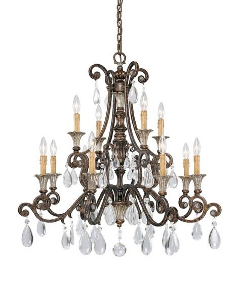 Click Image Above To Purchase: Savoy House St. Laurence 12-light Chandelier