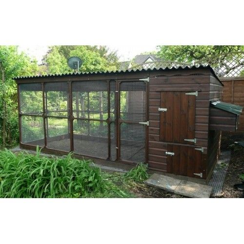 Walk In Chicken House large chicken house with large walk in chicken run is suitable for