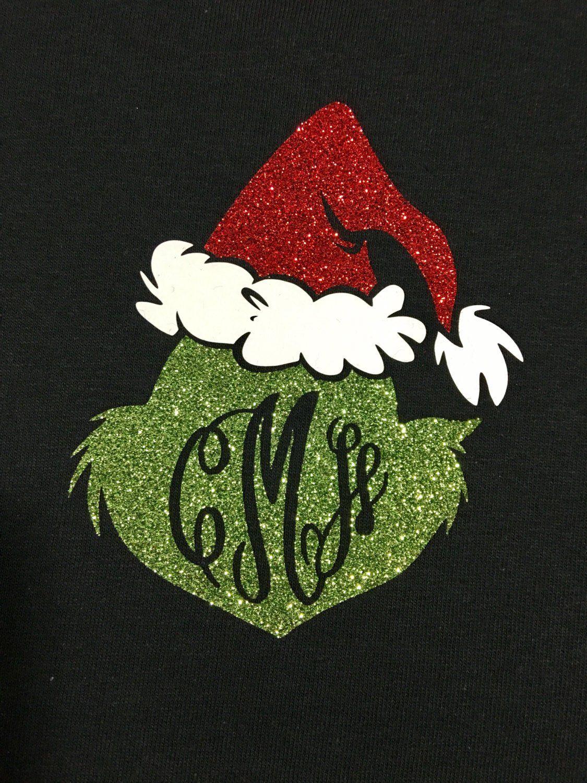 Mr Grinch Monogram Shirt Etsy