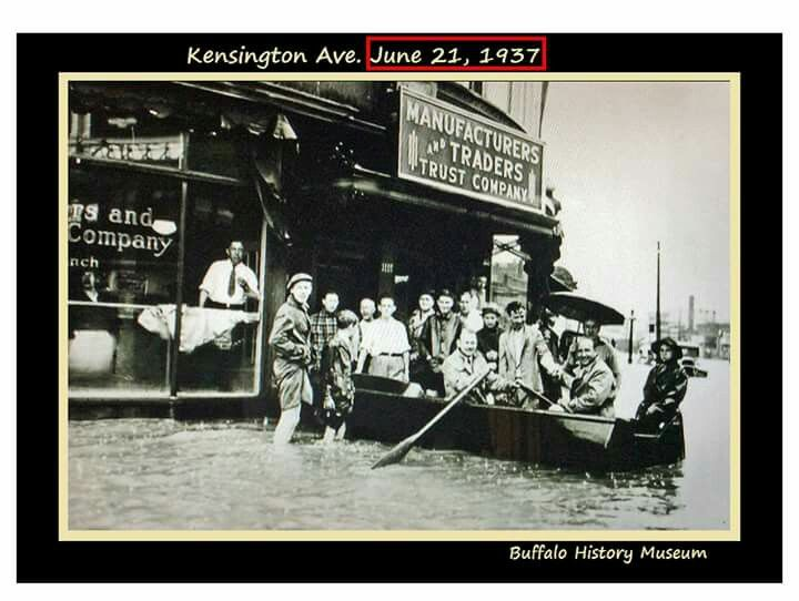 Kensington Bailey Flood 1937 Buffalo New York History Museum