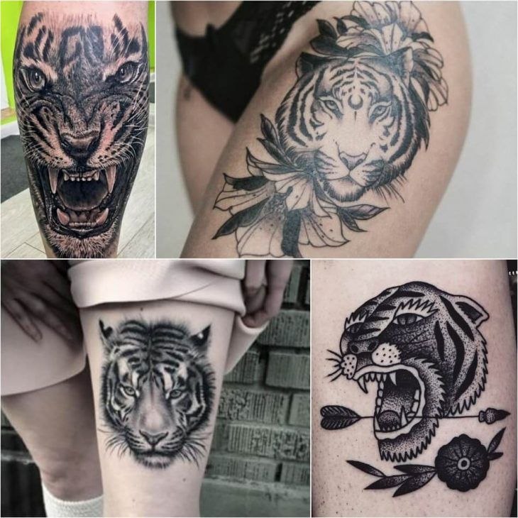 Tiger Tattoo Designs - Combination of Power, Wisdom and Fear of Death