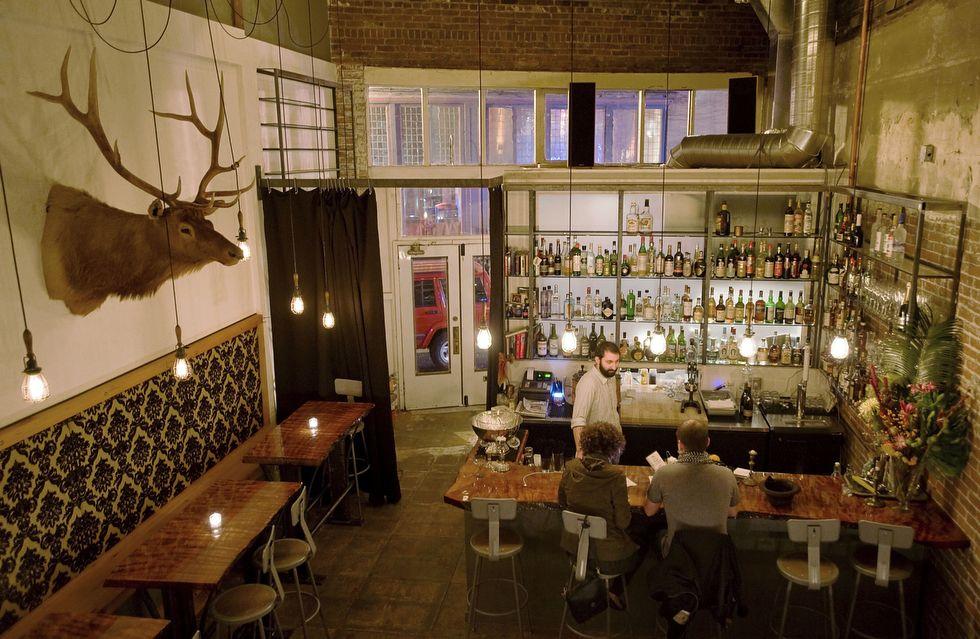 Central bar, Portland, Or....best bartender EVER!!!!!!!!!