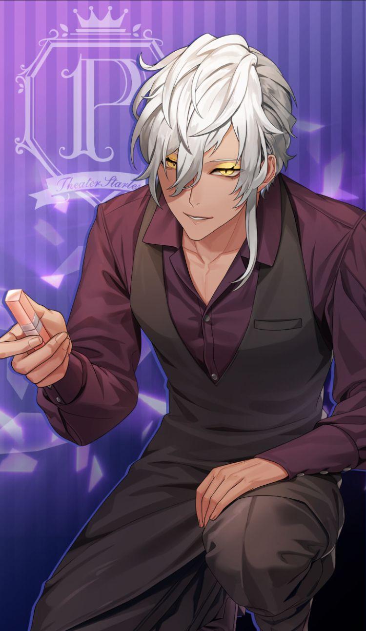 Pin By Liz Wick On Rp In 2020 White Hair Anime Guy Anime Boy Hair Dark Anime Guys