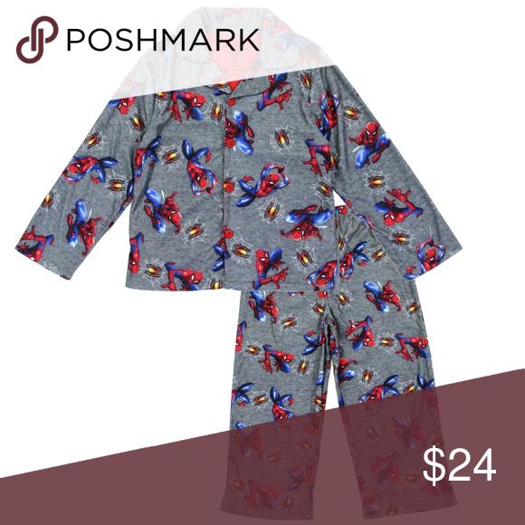 543a5aea8 Marvel Spiderman Boys Pajama Set.. Boys 4-10 Spider-man Boys Pajama ...