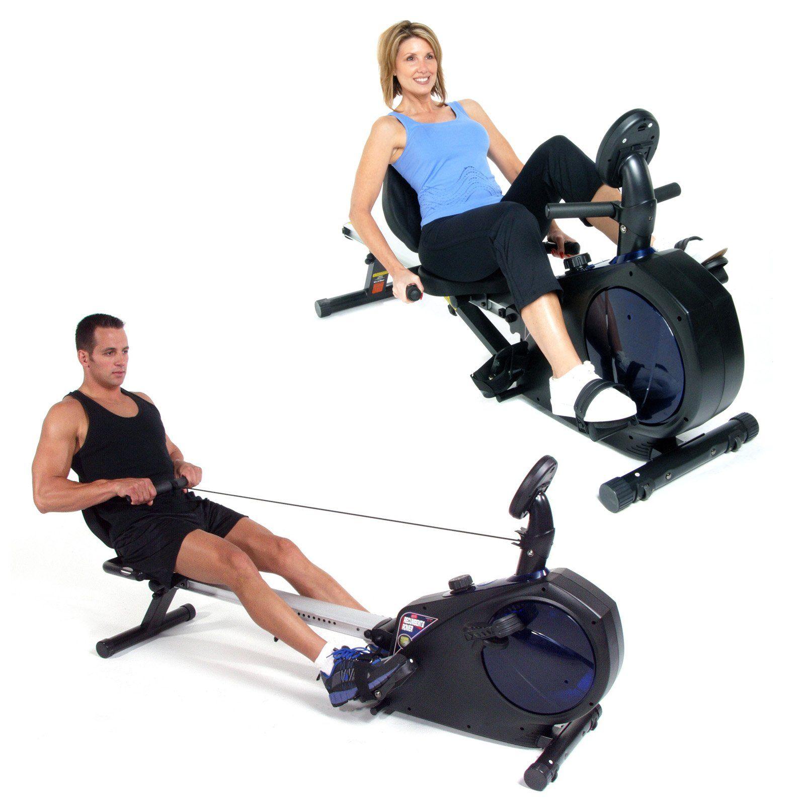 Have To Have It Stamina Avari Conversion Ii Rower Recumbent Exercise Bike 699 99 Hayneedle Recumbent Bike Workout Biking Workout Exercise Bikes