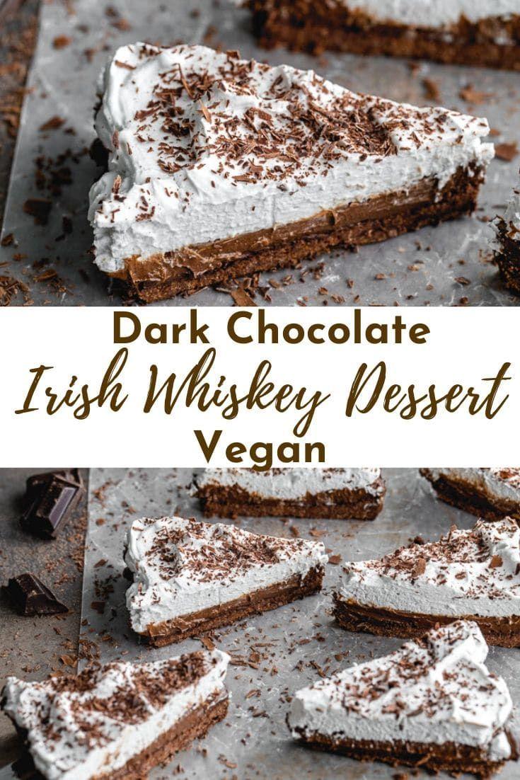 Photo of Chocolate Irish Whiskey Tart (Vegan)
